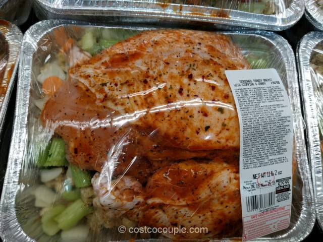 Seasoned Turkey Breast With Stuffing and Gravy Costco 3