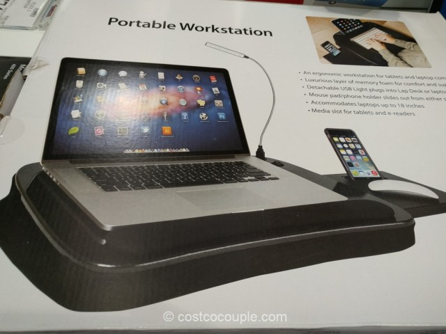 Sofia And Sam Memory Foam Lap Desk Costco 5