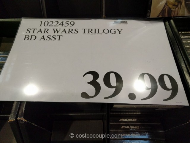 Star Wars DVD and Blu-Ray Trilogy Costco 1