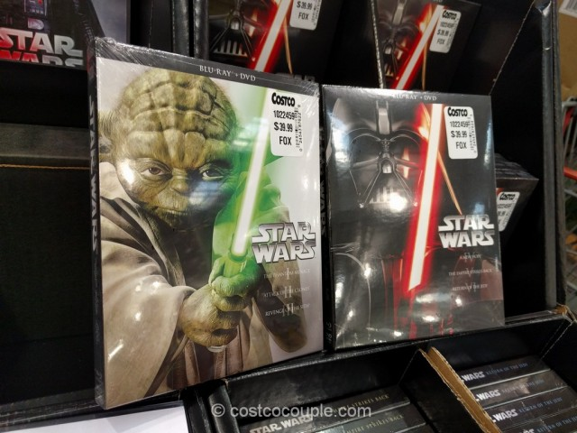 Star Wars DVD and Blu-Ray Trilogy Costco 2