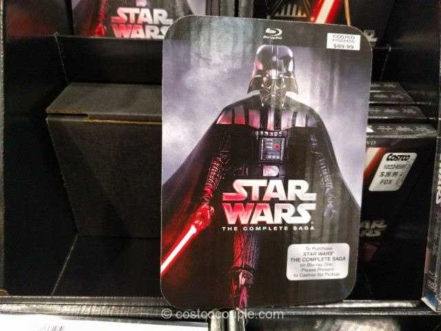 Star Wars The Complete Saga Blu-Ray Costco 1