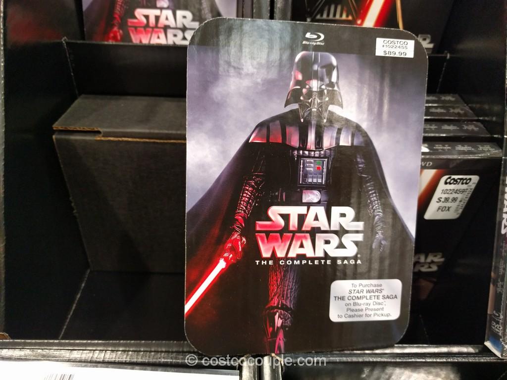 Star Wars The Complete Saga Blu-Ray Costco 1