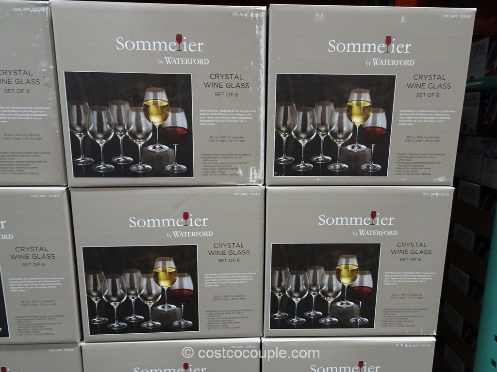 Waterford Lead Crystal Wine Glass Costco 2