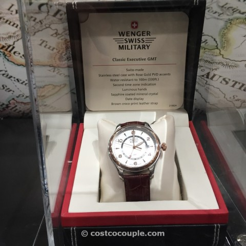 Wenger Swiss Military Classic Executive GMT Costco 1