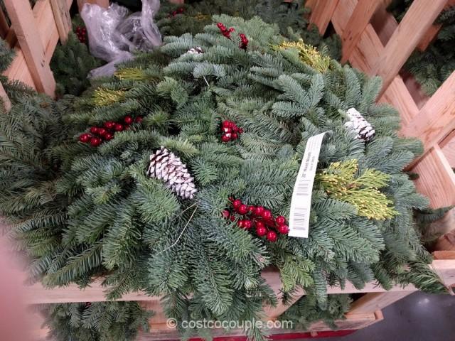 28-Inch Mixed Wreath Costco 2