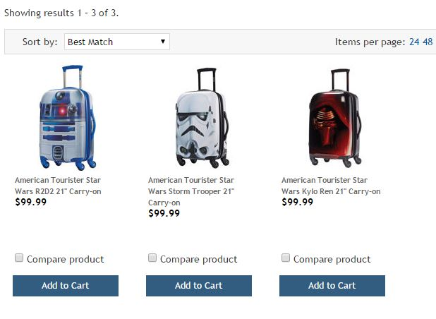 American Tourister Star Wars Costco 1