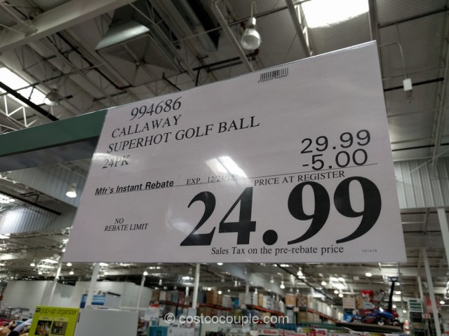 Callaway Superhot Golf Ball Costco 1