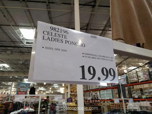 Celeste Ladies Poncho Costco 1
