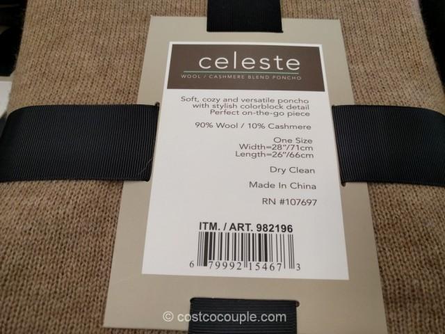 Celeste Ladies Poncho Costco 5