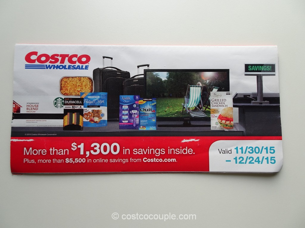Costco Dec 2015 Coupon Book 1