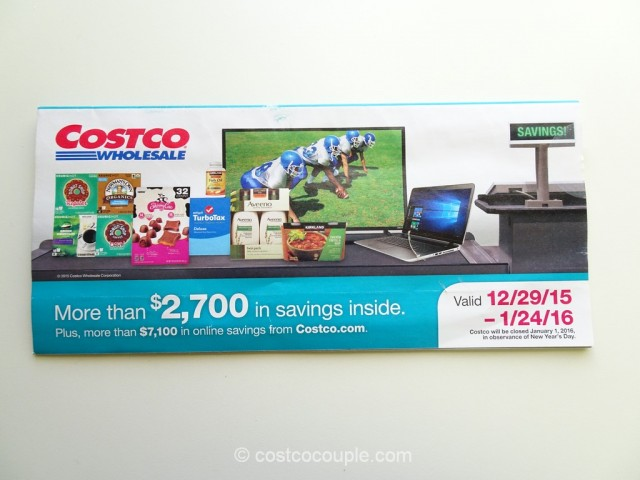Costco Jan 2016 Coupon Book 1