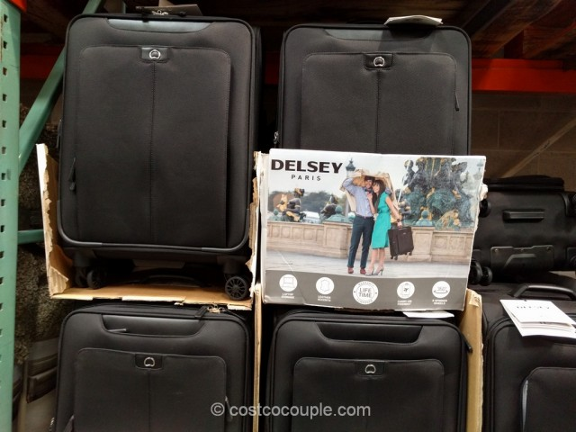 Delsey Softside Spinner Costco 2