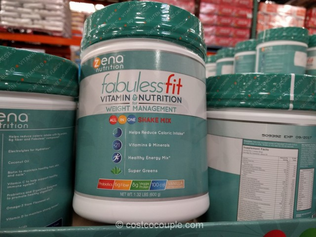 FabulessFit Shake Mix Costco 2
