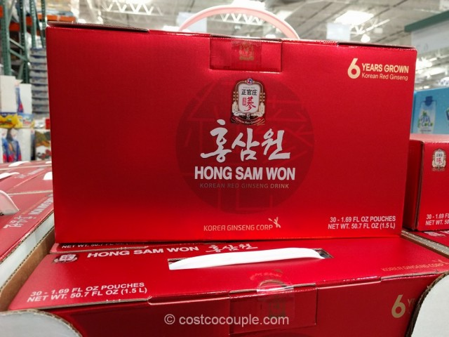 Hong Sam Won Korean Red Ginseng Drink Costco 3