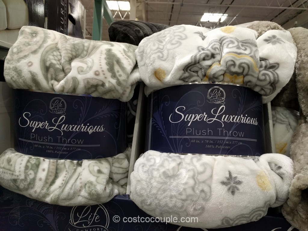 Life Comfort Super Luxurious Plush Throw Costco 2