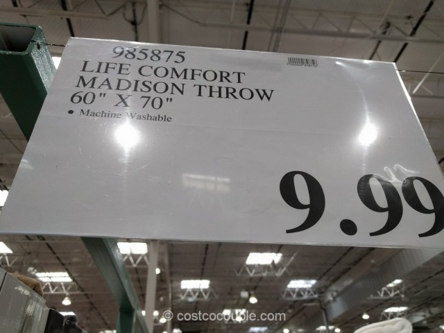 Life Comfort Textured Throw Costco 2