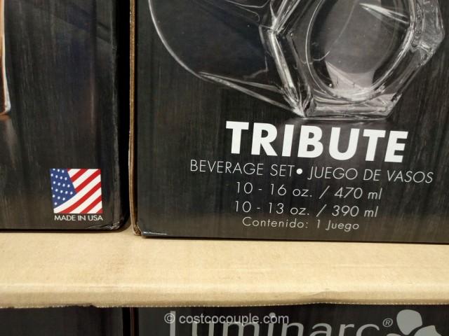 Luminarc Tribute Drinkware Set Costco 3