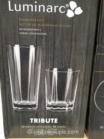 Luminarc Tribute Drinkware Set Costco 4