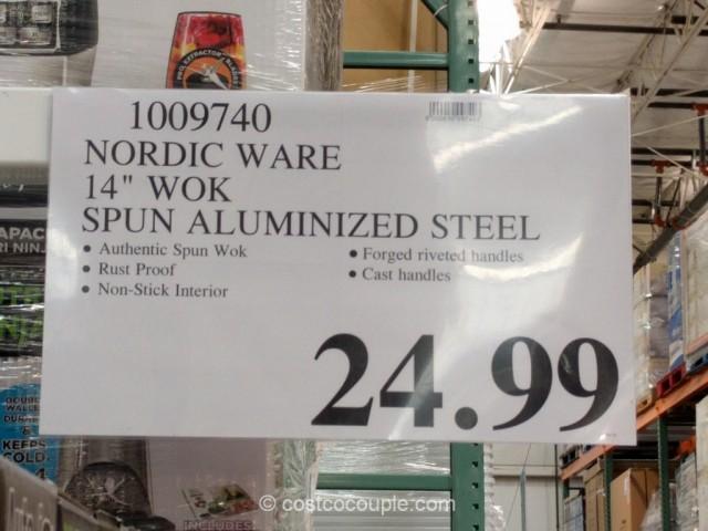 NordicWare 14-Inch Wok Costco 1