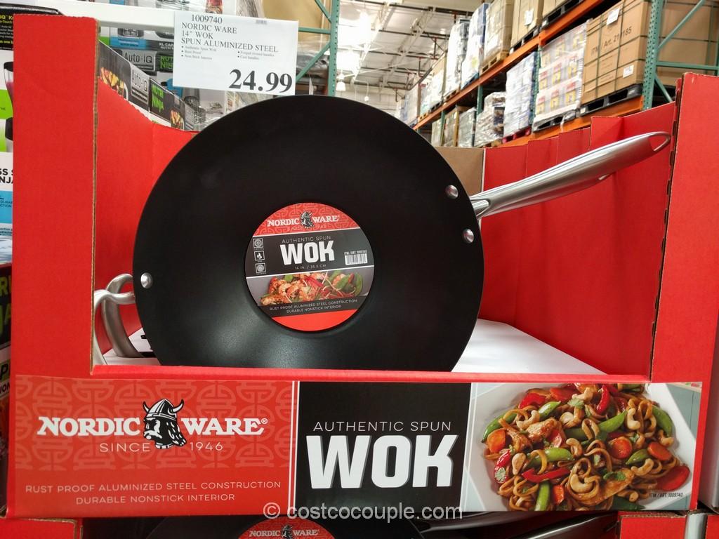 NordicWare 14-Inch Wok Costco 2