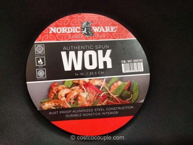 NordicWare 14-Inch Wok Costco 3