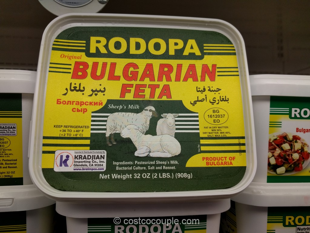 Rodopa Bulgarian Feta Costco 1