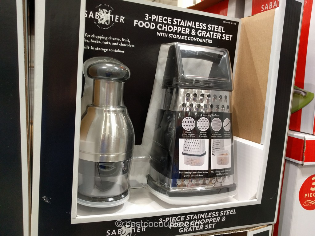 Sabatier Chopper and Grater Set Costco 2