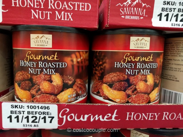 Savanna Orchards Gourmet Honey Roasted Nut Mix Costco 2