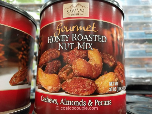 Savanna Orchards Gourmet Honey Roasted Nut Mix Costco 4