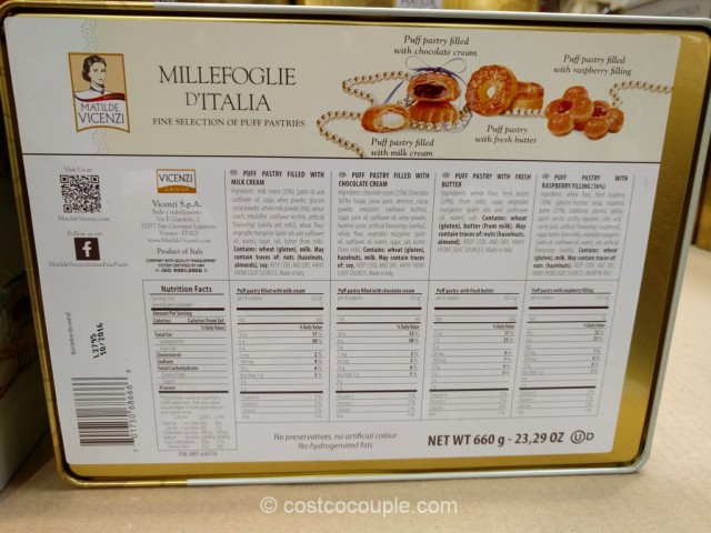 Vicenzi Millerfoglie D-Italia Puff Pastry Costco 4