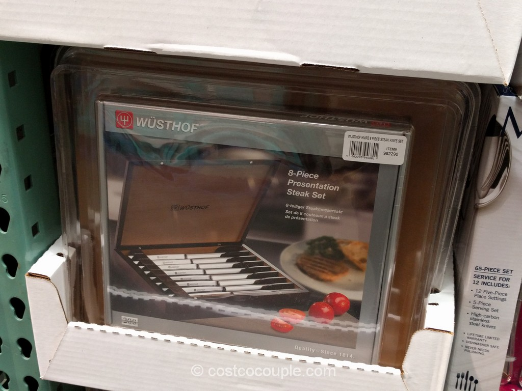 Wusthof 8-Piece Steak Knife Set Costco 2