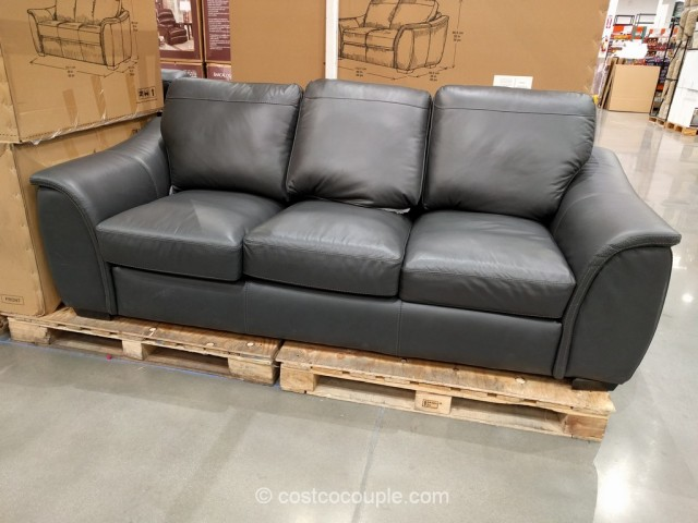 Adalyn Home Leather Sofa Costco 2