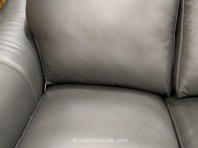 Adalyn Home Leather Sofa Costco 3