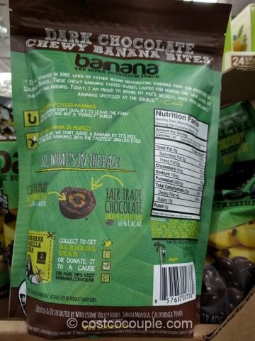 Barnana Organic Dark Chocolate Banana Bites Costco 3