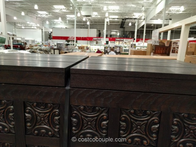 Bayside Furnishings Storage Coffee Table