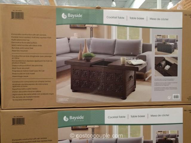 Bayside Furnishings Storage Coffee Table Costco 5