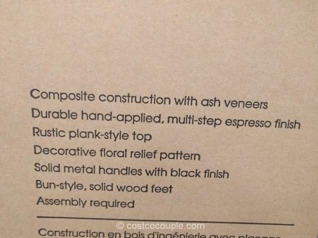 Bayside Furnishings Storage Coffee Table Costco 6