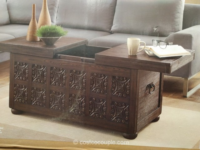 Bayside Furnishings Storage Coffee Table