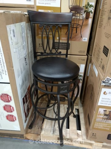 Bayside Furnishings Swivel Bar Stool