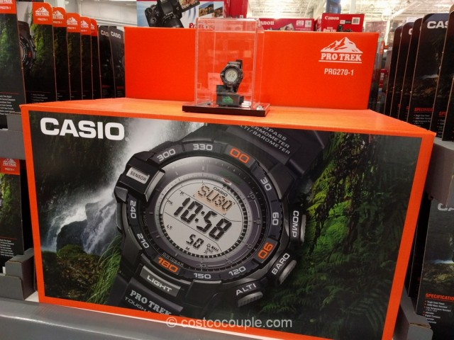 Casio Protrek Solar Power Mens Digital Watch Costco 4