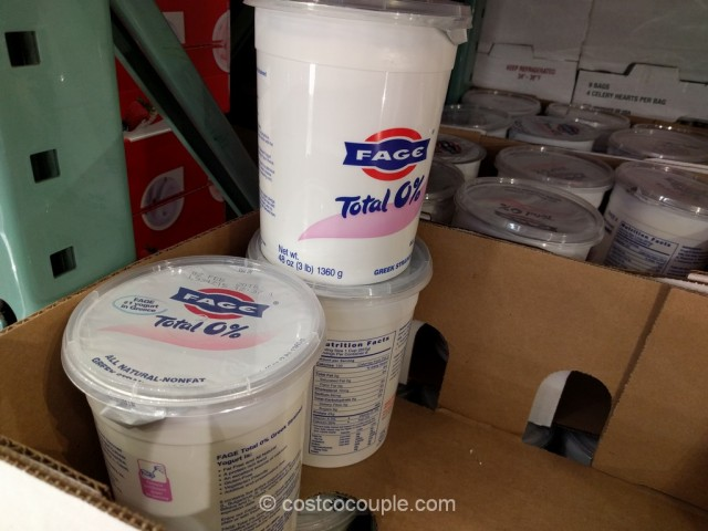 Fage Total Nonfat Greek Yogurt Costco 2