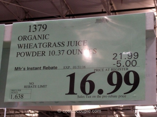Fresh on Demand Organic Wheatgrass Costco 1
