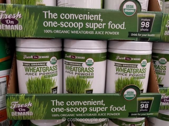 Fresh on Demand Organic Wheatgrass Costco 2