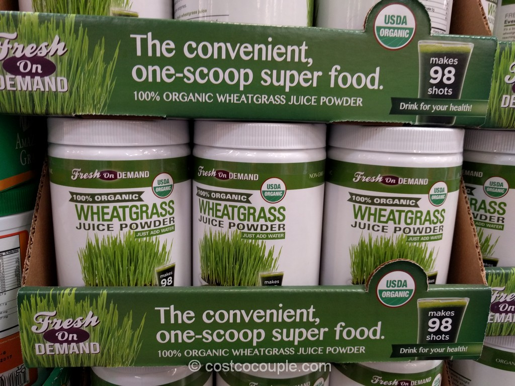 Fresh on Demand Organic Wheatgrass Costco 2