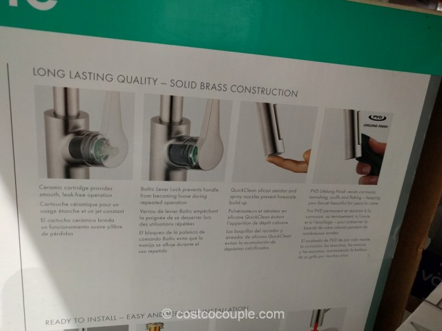 Hansgrohe Cento Pull-Down Kitchen Faucet Costco 5
