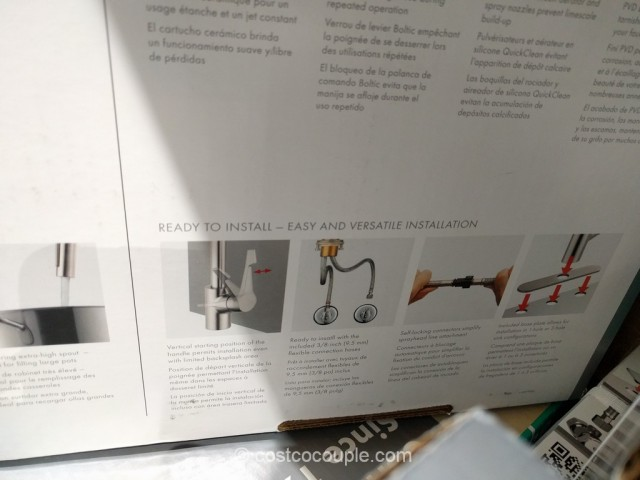 Hansgrohe Cento Pull-Down Kitchen Faucet Costco 6