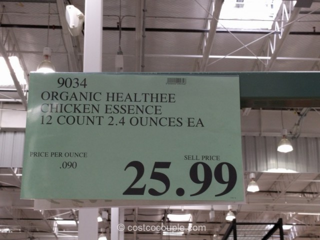 Healthee Organic Chicken Essence Costco 1