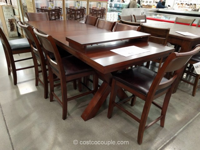 Hillsdale Furniture 9 Piece Counter Height Dining Set Costco 2