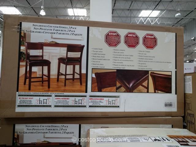 Hillsdale Furniture Non-Swivel Counter Stools Costco 2