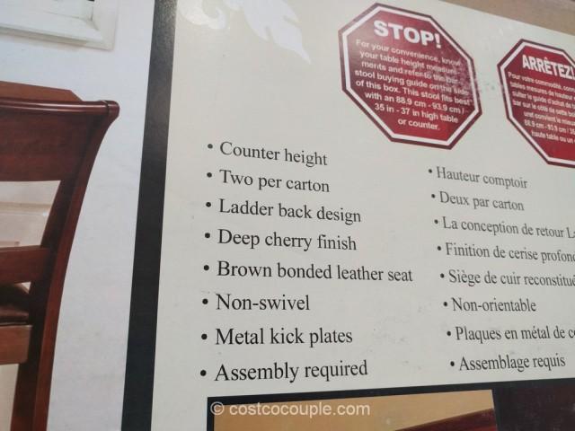 Hillsdale Furniture Non-Swivel Counter Stools Costco 3